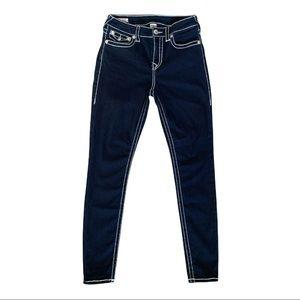 True Religion World Tour Jennie Curvy Skinny Stretch Jeans